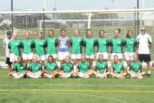 Eastern Shore United Blitz Girls Soccer Team