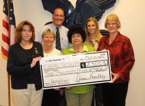Star Charities Presents $2,500 Check To Girl Scouts