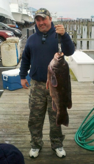 Pending State Record Tog Caught By Philadelphia Man