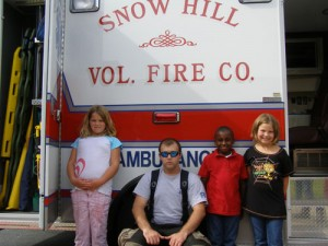 Snow Hill Volunteer Fire Department Visit Snow Hill Elementary School