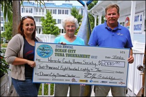 OC Tuna Tournament Donate To Worcester Humane Society