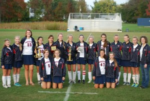 Worcester Girls Win First ESIAC Crown