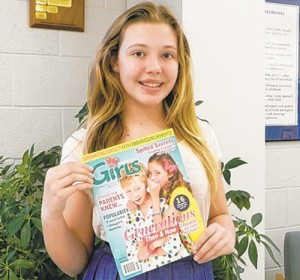 SD Middle School Seventh Grader Submitts Article To Discovery Girls Magazine Online