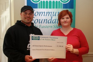 Community Foundation Awards Off Street Sports Performance Program With $7,500 Community Needs Grant