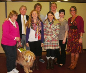 OC/Berlin Leo Club Members Attend Leader Dogs For The Blind Dinner