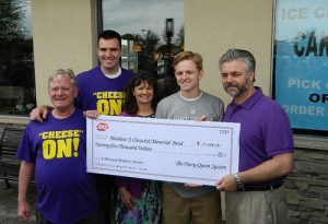 Flacco Helps Accident Victim's Memorial Fund