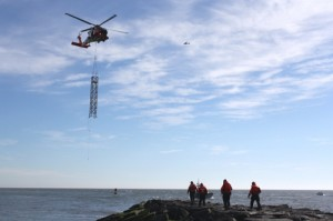 Permanent Coast Guard Beacon Tower Installed Next Week