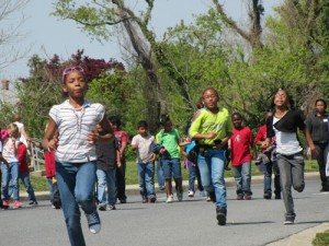 "Buckingham Elementary Students Participate In ""Relay Recess"" To Raise Money For The American Cancer Society"