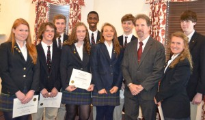 Worcester Prep School Inducts New Members Into William E. Esham, Jr. Cum Laude Society