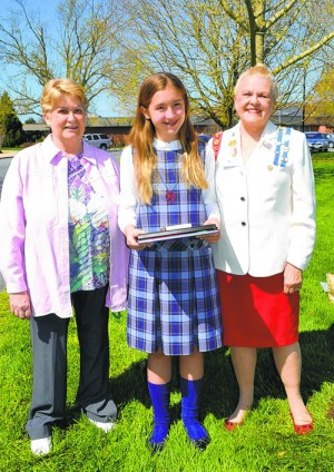 Blake Honored By Daughters Of The American Revolution For Award-Winning Historical Essay