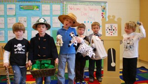 Annual Nursery Rhyme Day Held At Pre-K Classes At OC Elementary