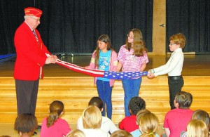American Legion Visits OC Elementary School Fourth Graders