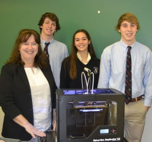 Worcester Prep Ignites Interest In Engineering With 3-D Printer