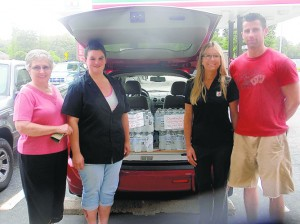 Local 7-Eleven Donates Cases Of Water To Appalachia Service Project