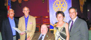 Rotary Club District 7630 Installs 2013/2014 Ocean City/Berlin Officers