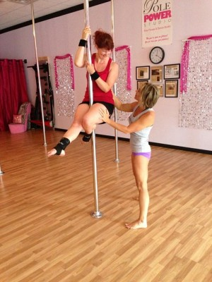 Houck Sharing Pole Passion With Clients In WOC, Salisbury