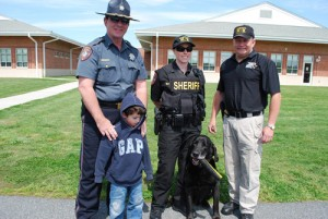 Pre-K Students At OC Elementary Treated To Presentation About K-9 Dogs