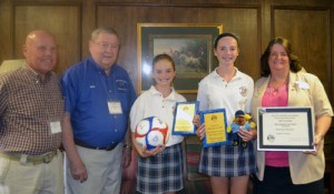 Grosso and Abercrombie Named Winners In Elks Annual Drug Awareness Competition