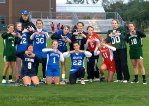 SD Girls' Varsity Lacrosse Team Participate In Annual All-Star Game