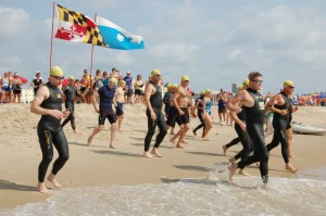 NEW FOR WEDNESDAY: 200 Swimmers Brave Chilly Water For Inaugural Event