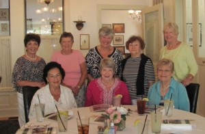 1st And 3rd Wednesday Bridge Group Holds Luncheon For Sandy Huss At Atlantic Hotel