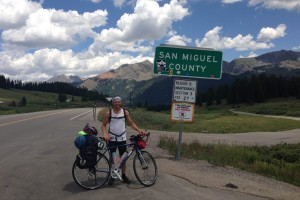 Man's Cross Country Bike Voyage Will End In Resort On Labor Day Weekend
