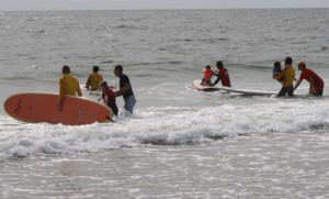 Surfer's Healing Event Draws 225 Kid Surfers; Organizers Give Autistic Children Rare Opportunities To Learn About Ocean