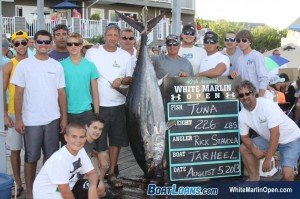 NEW FOR TUESDAY: No Billfish On White Marlin Open Leaderboard; 220 Boats Fishing Today