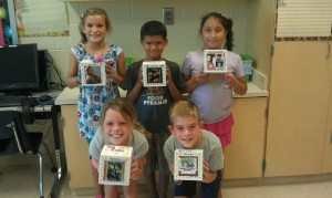 "Third Graders At OC Elementary Create ""Me Cubes"""