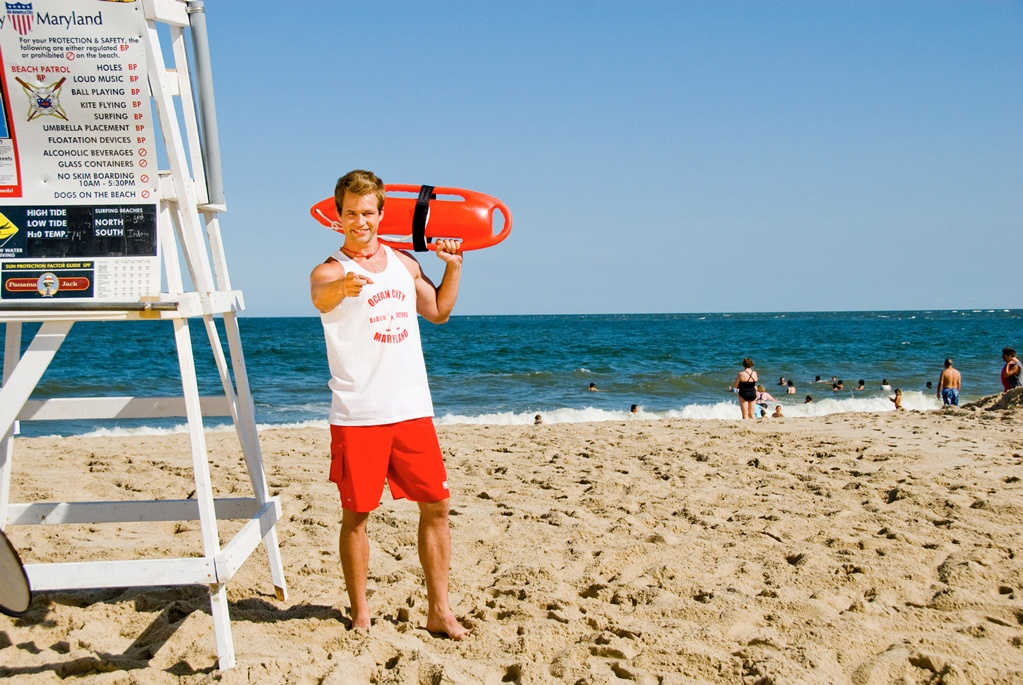 Although nothing has been said officially, the city's decision to remain with its current advertising agency, MGH, will likely mean another year of a marketing campaign featuring Rodney the Lifeguard. File Photo