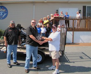 Dale And Donna Russell Win Knights Of Columbus Harley Davidson Street Glide Raffle