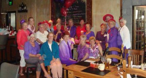 Ocean City Red Hat Gems Celebrate 10-year Anniversary