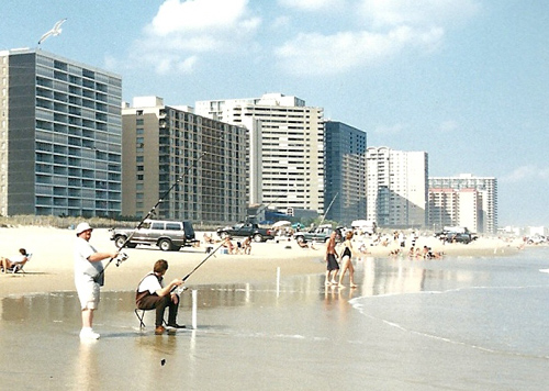 A file photo of the annual surf tournament held in Ocean City each October.