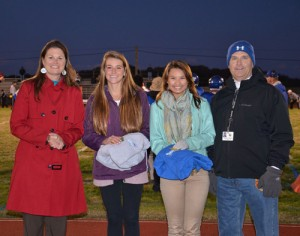 Fowler & Ortega Honored As VIPs Of The Game At SD High School Football Game