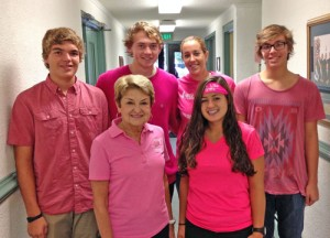 "Worcester Prep School's Student Government Association Sponsors ""Wear Your Pink"" Casual Day"