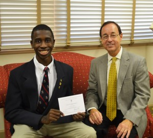 Eniola, Worcester Prep Senior, Named Semifinalist In National Achievement Scholarship Program
