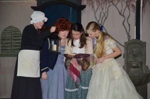 SD Thespians Read Ancient Ledger Of The Bondurant Family Brides