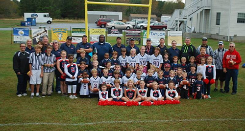 upward football and cheer