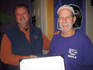 Frank Berterman Ravens Roost #44 Member of the Year