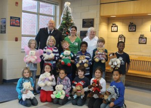 "Second Graders At Ocean City Elementary School Participate In ""Share A Bear Program"""