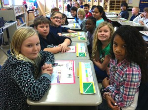 OC Elementary Fourth Graders Work On Writing Skills
