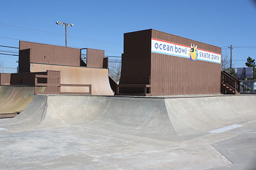 Located at 3rd Street and St. Louis Avenue, the Ocean Bowl Skate Park was used by 10,329 people in 2013. File Photo
