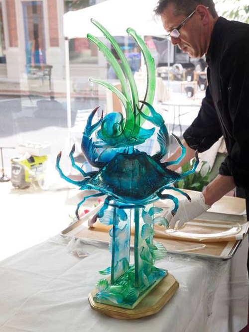 Chef Steven Weiss will demonstrate his sugar artist skills at next month's OCHMRA Expo. Submitted Photo
