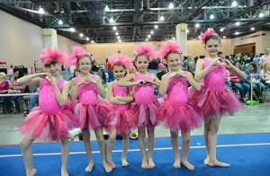 Twisters Women's Gymnastics Team Travels To PA Convention Center In Philadelphia For 2014 Pink Invitational