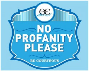 Council Approves Boardwalk 'No Profanity Please' Signs
