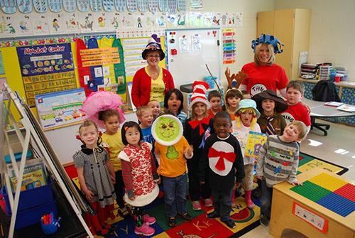 Oc Elementary School Pre K Class Celebrates Dr Seuss Birthday on Best Dr Seuss Images On Pinterest Book Week Costume