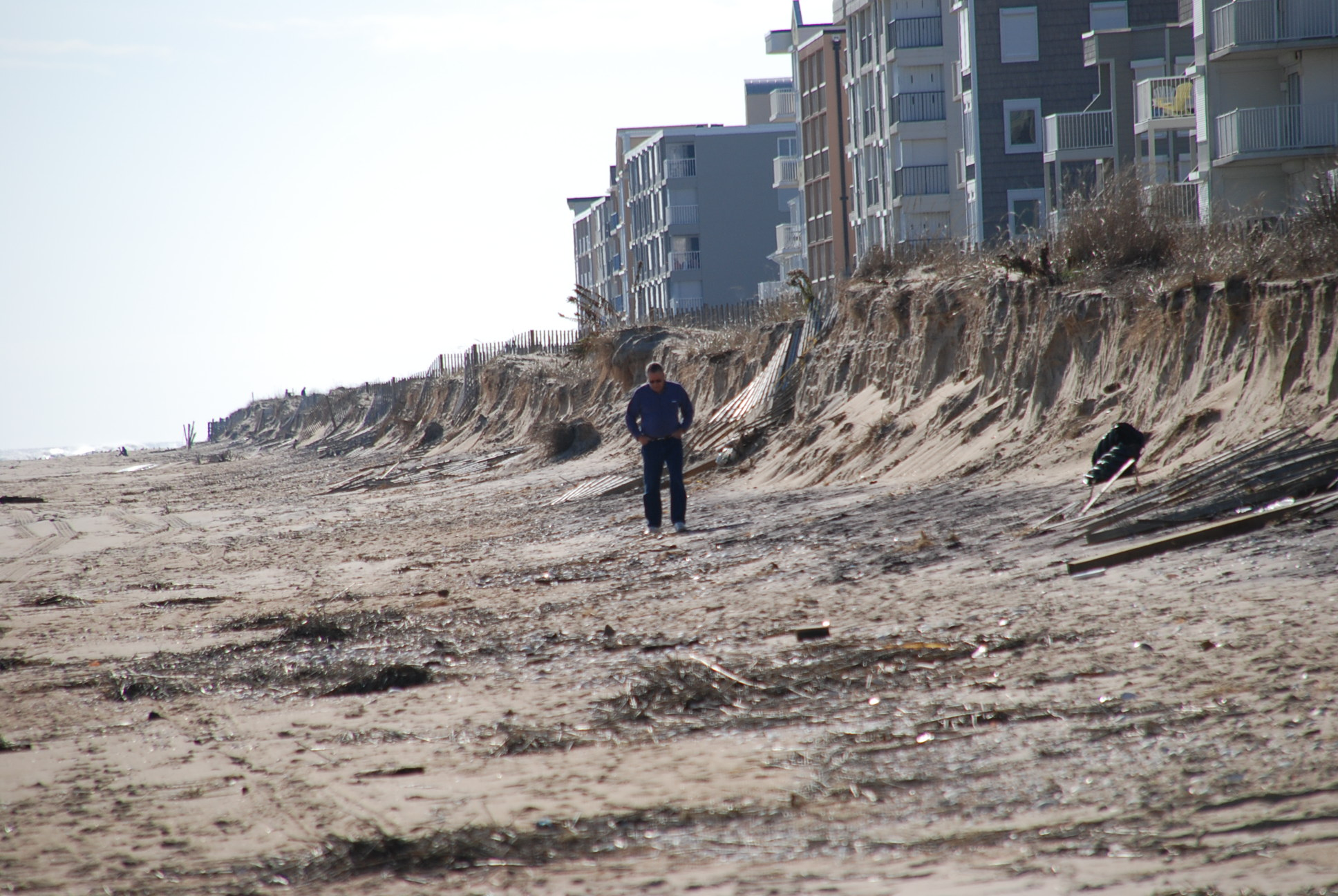 The beach is pictured after a significant fall story in 2009. File Photo