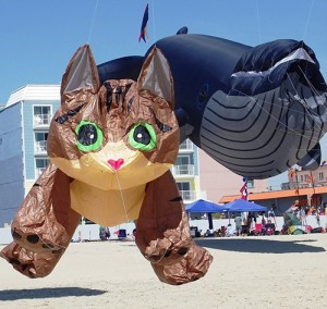 Kites of all shapes, styles, sizes and colors will be on display off the Boardwalk between 2nd and 6th streets this weekend. File Photo