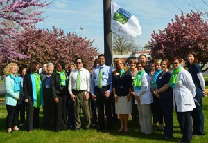 PRMC Raises Donate Life Flag In Honor Of National Donate Life Month