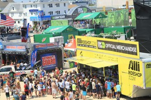 Although the event features many sports events, there is also the Dew Tour Village that offers a variety of activities and vendors. File Photo